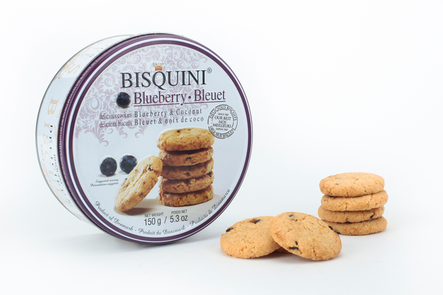 Bisquini Blueberry Cookies