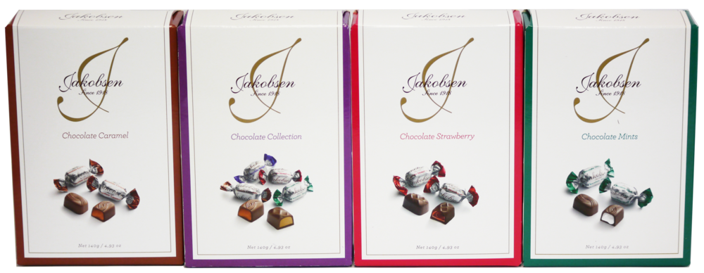Jakobsen Flavoured Chocolates