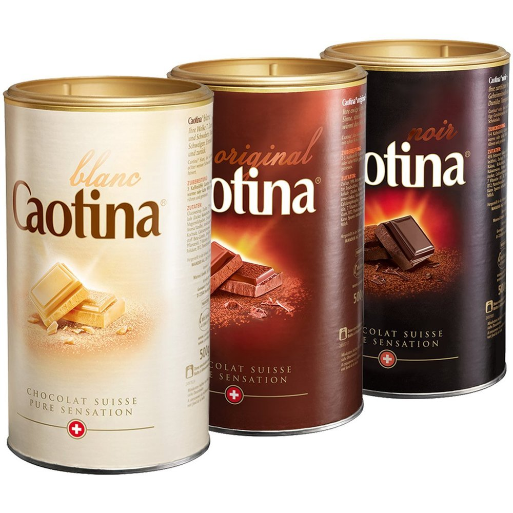 Caotina (Dark, Milk and White Chocolate)