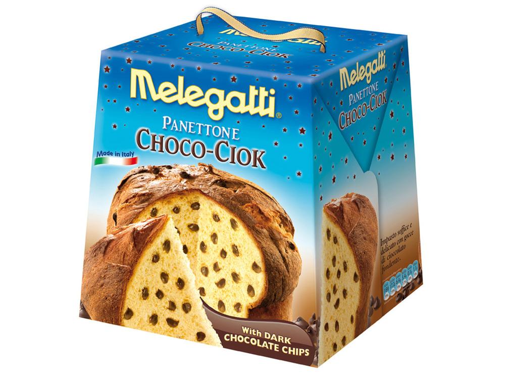Melegatti Panettone Choco-Ciok