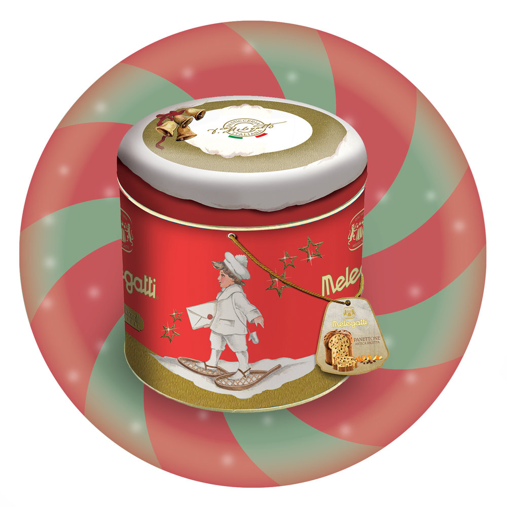 Traditional Panettone Fantasy Tins