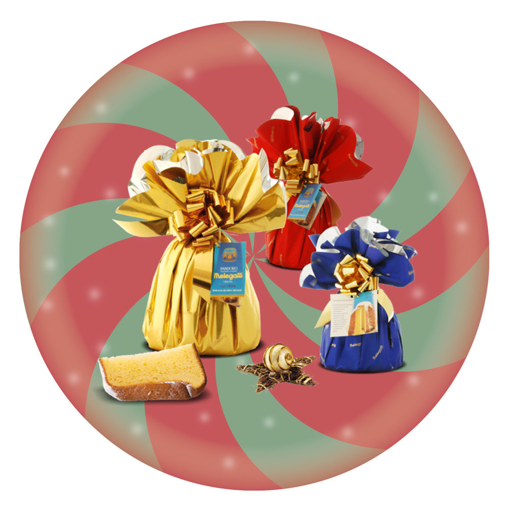 Pandoro Incartato Multicolour