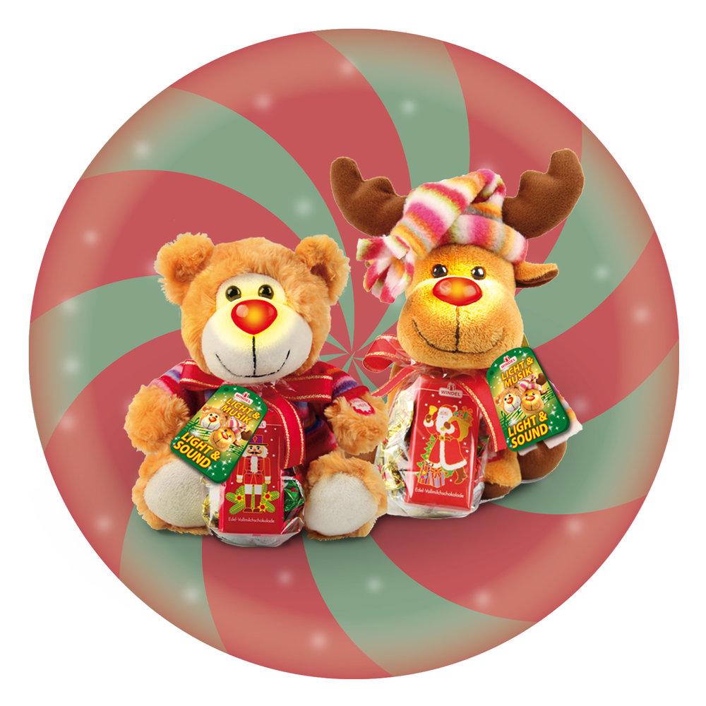 Windel Musical Blinking Plush Toy