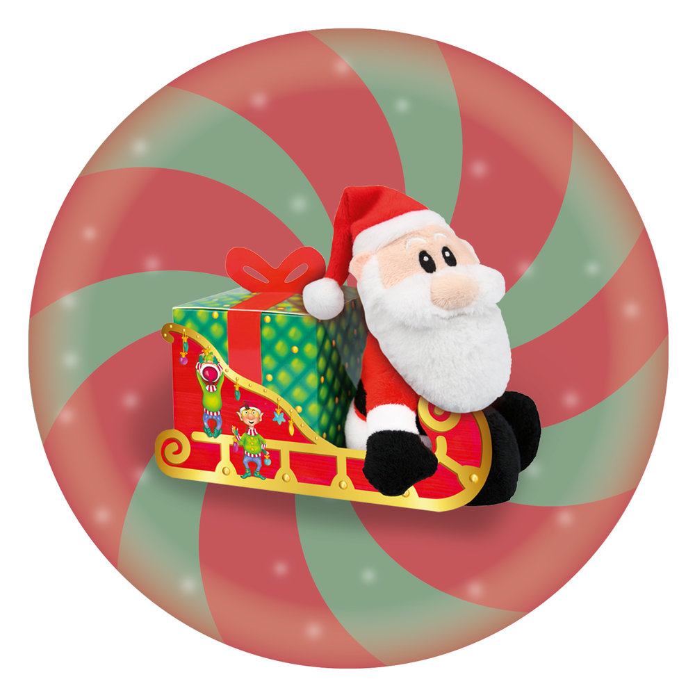 Windel Santa with Sleigh