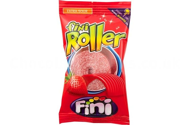 Fini Roller Candy - Strawberry