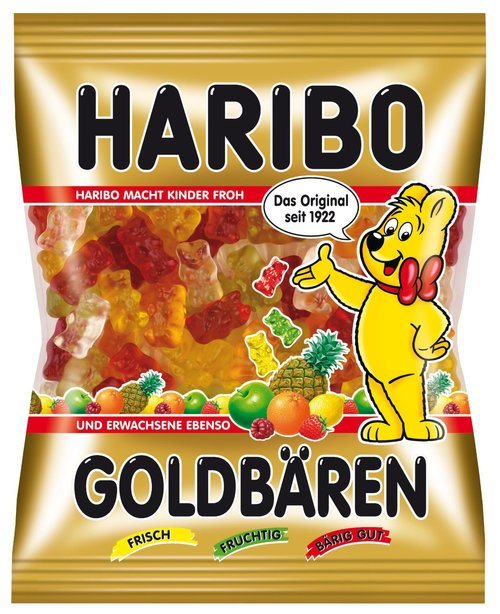 HARIBO Fruit Gummy Bears