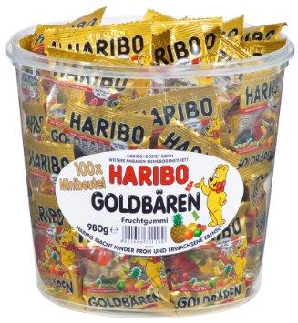 HARIBO Fruit Gummy Bears Tub