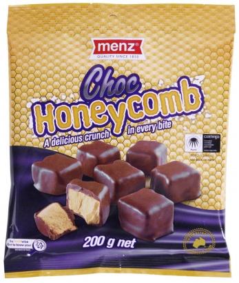 Menz Choc Honeycomb