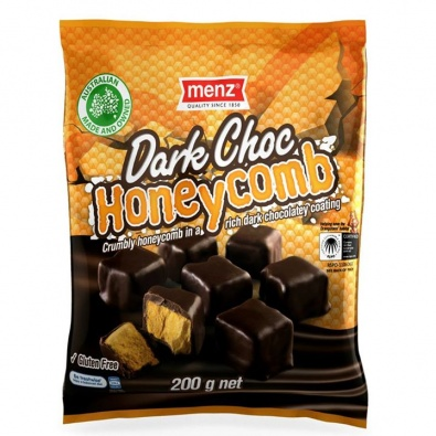 Menz Dark Choc Honeycomb