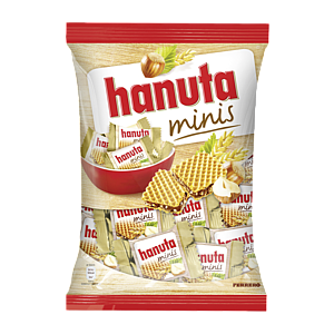 Hanuta Mini Chocolate Wafers