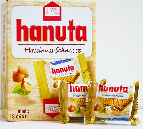 Hanuta Chocolate Wafers