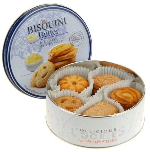 Bisquini Butter Cookies