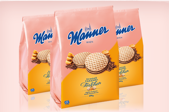 Manner Choco-Caramel Tartlets