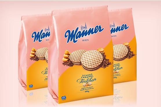 Manner Choco-Caramel Tartlets