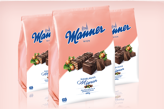 Manner Mignon Hazelnut Wafers