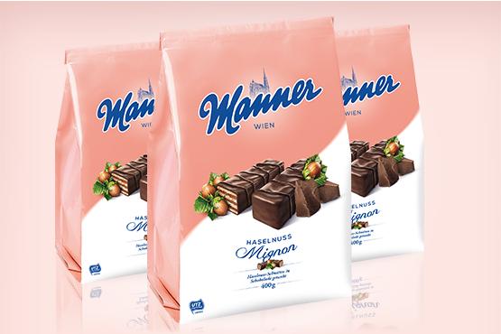 Manner Mignon Hazelnut Wafers