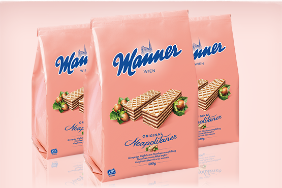 Manner Original Neapolitan Wafers