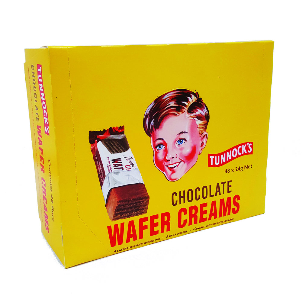 Tunnock's Chocolate Wafer Creams