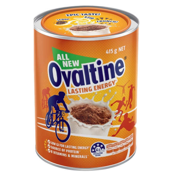 Ovaltine Lasting Energy Drink