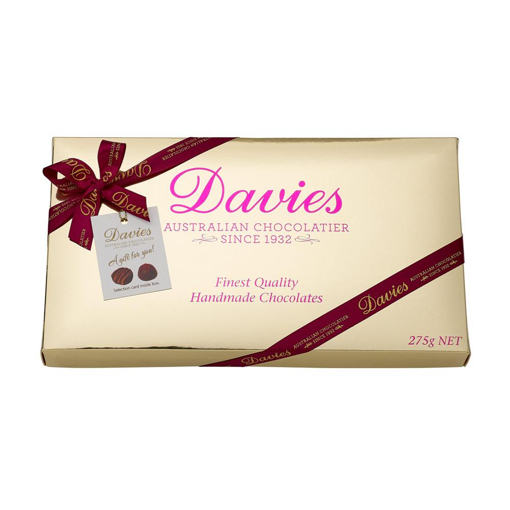 Davies Gold Gift Box