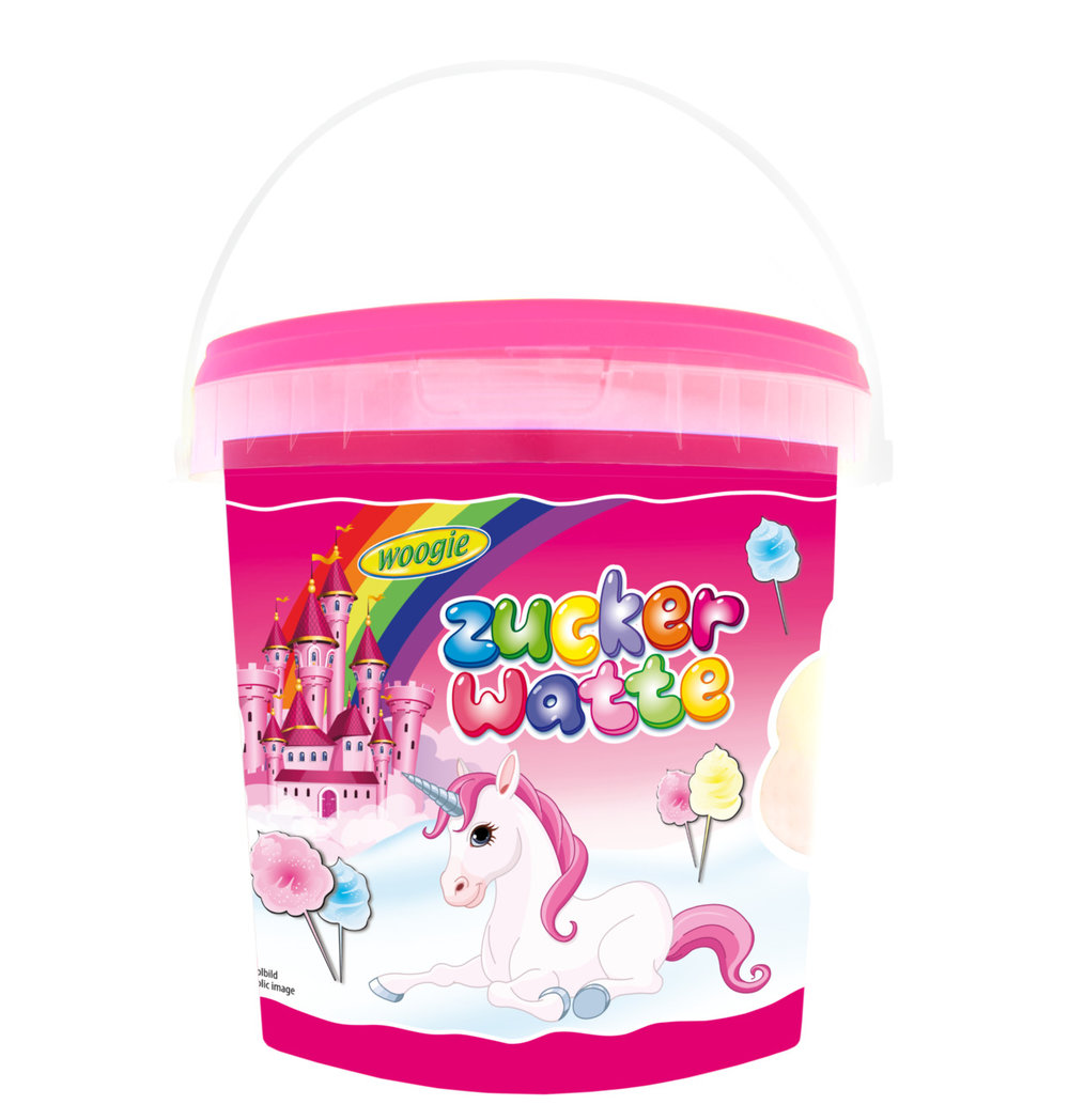 Woogie Unicorn Candy Floss