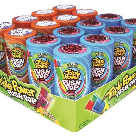 Topps Triple Power Push Pop
