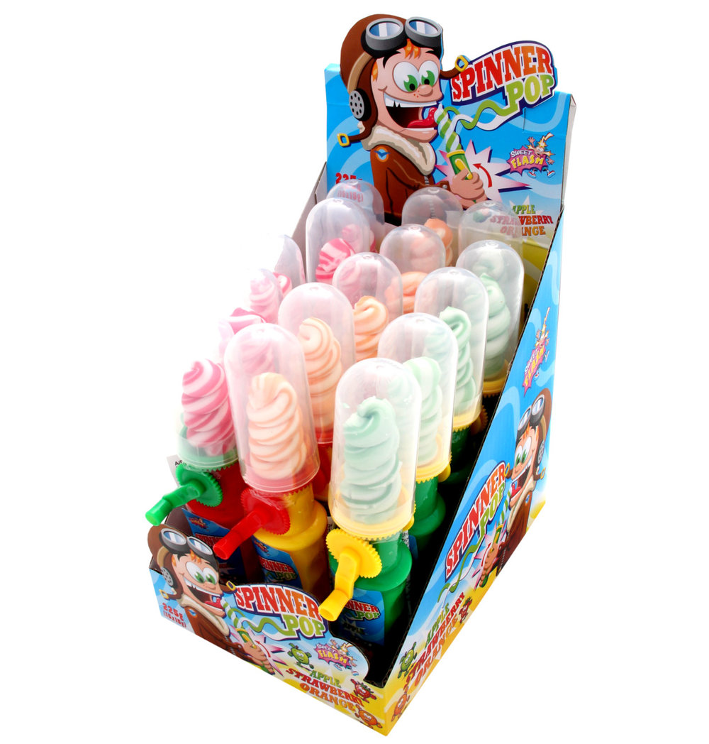 Sweet Flash Spinner Pop