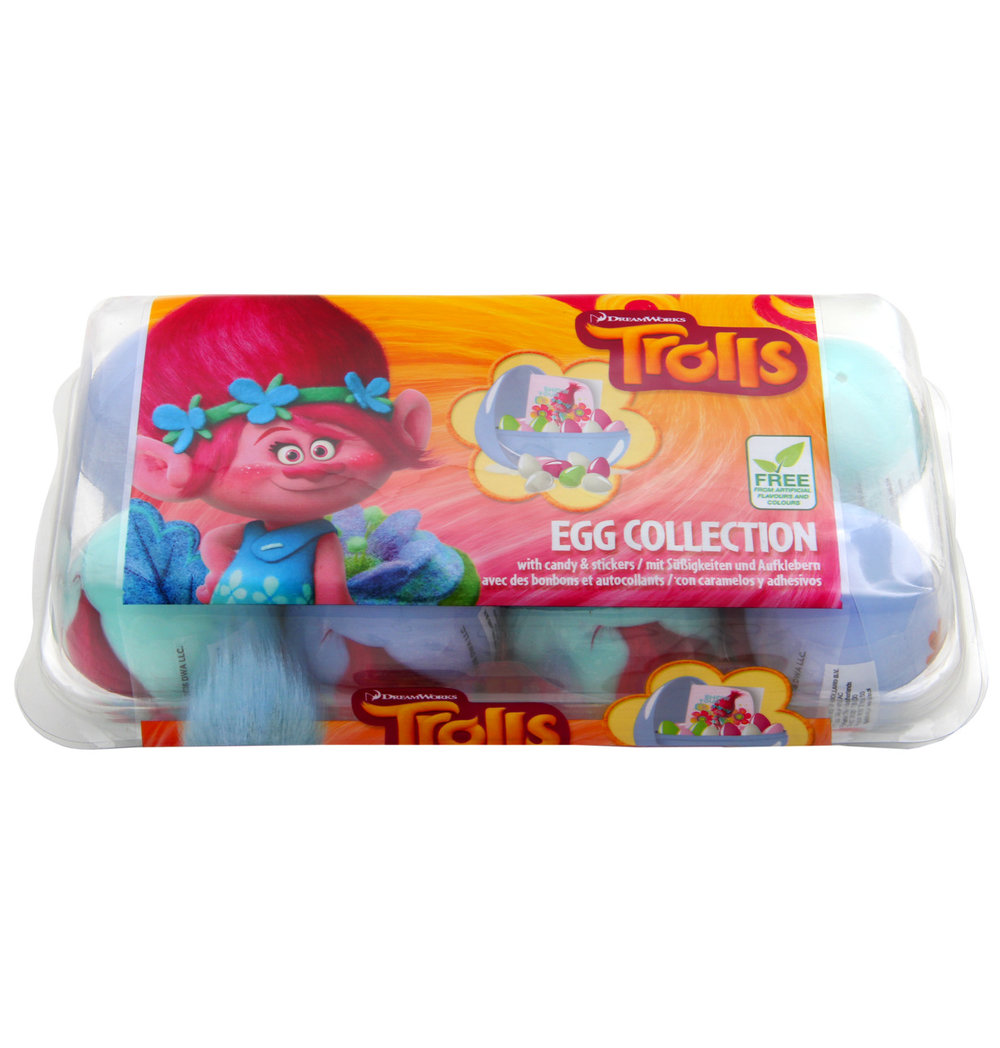 Bip Trolls Egg Collection