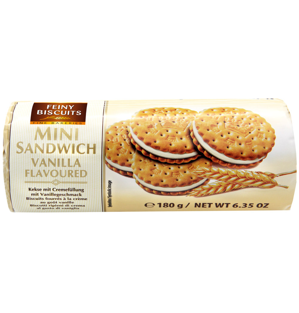 Feiny Biscuits Vanilla Flavoured Biscuits