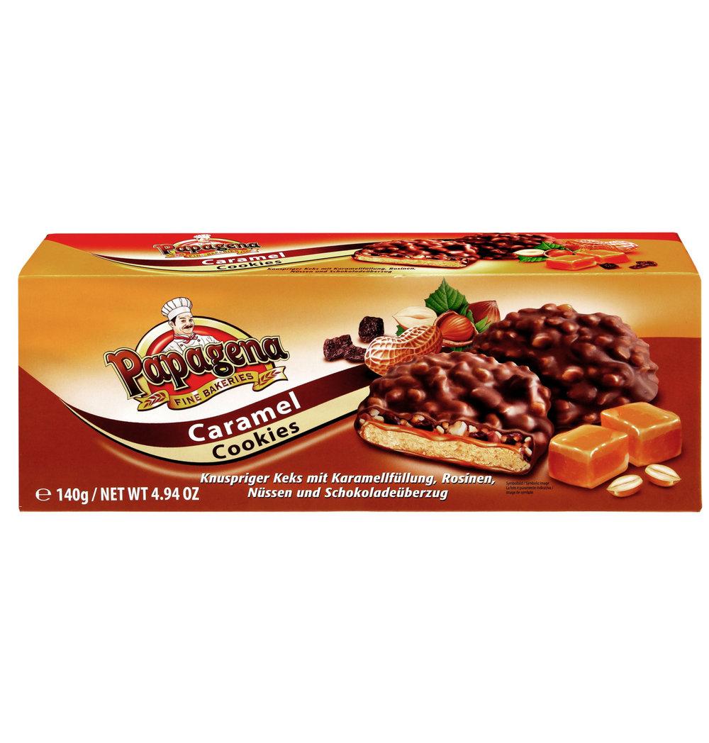 Papagena Caramel Cookies