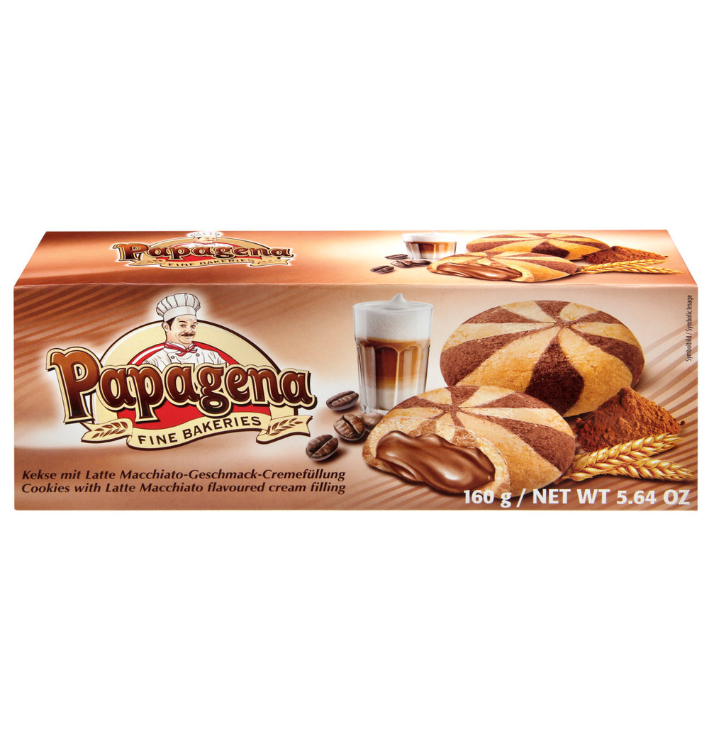 Papagena Cappuccino Cookies