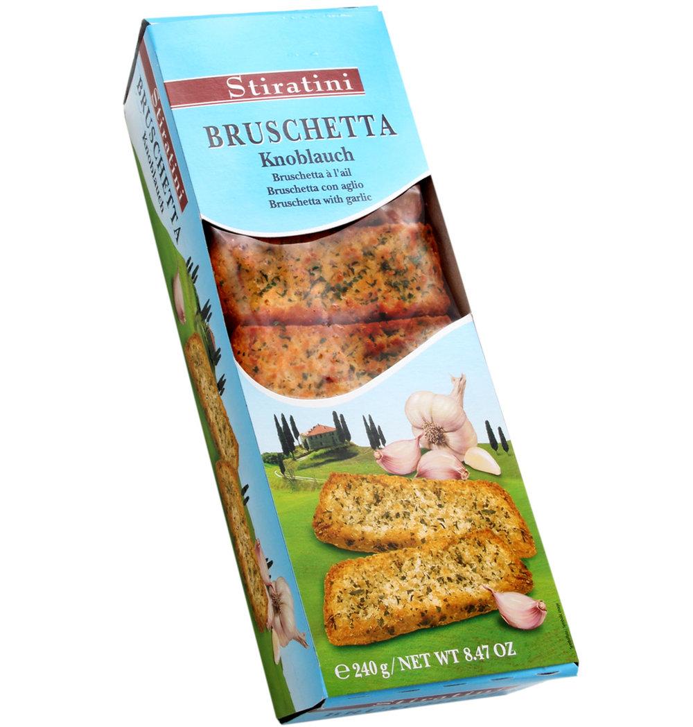 Stiratini Garlic Bruschetta