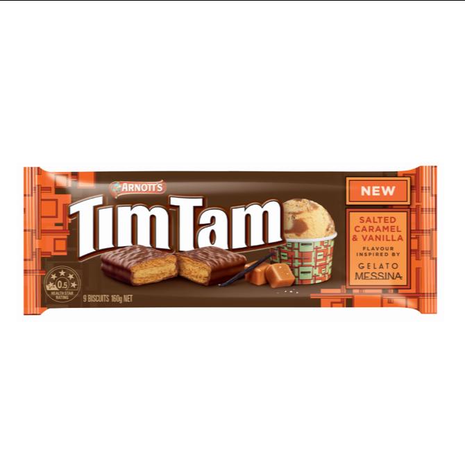 Arnott's Tim Tam - Salted Caramel & Vanilla
