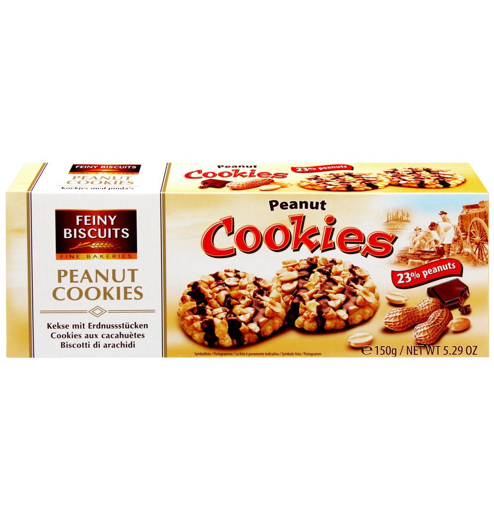 Feiny Biscuits Peanut Cookies