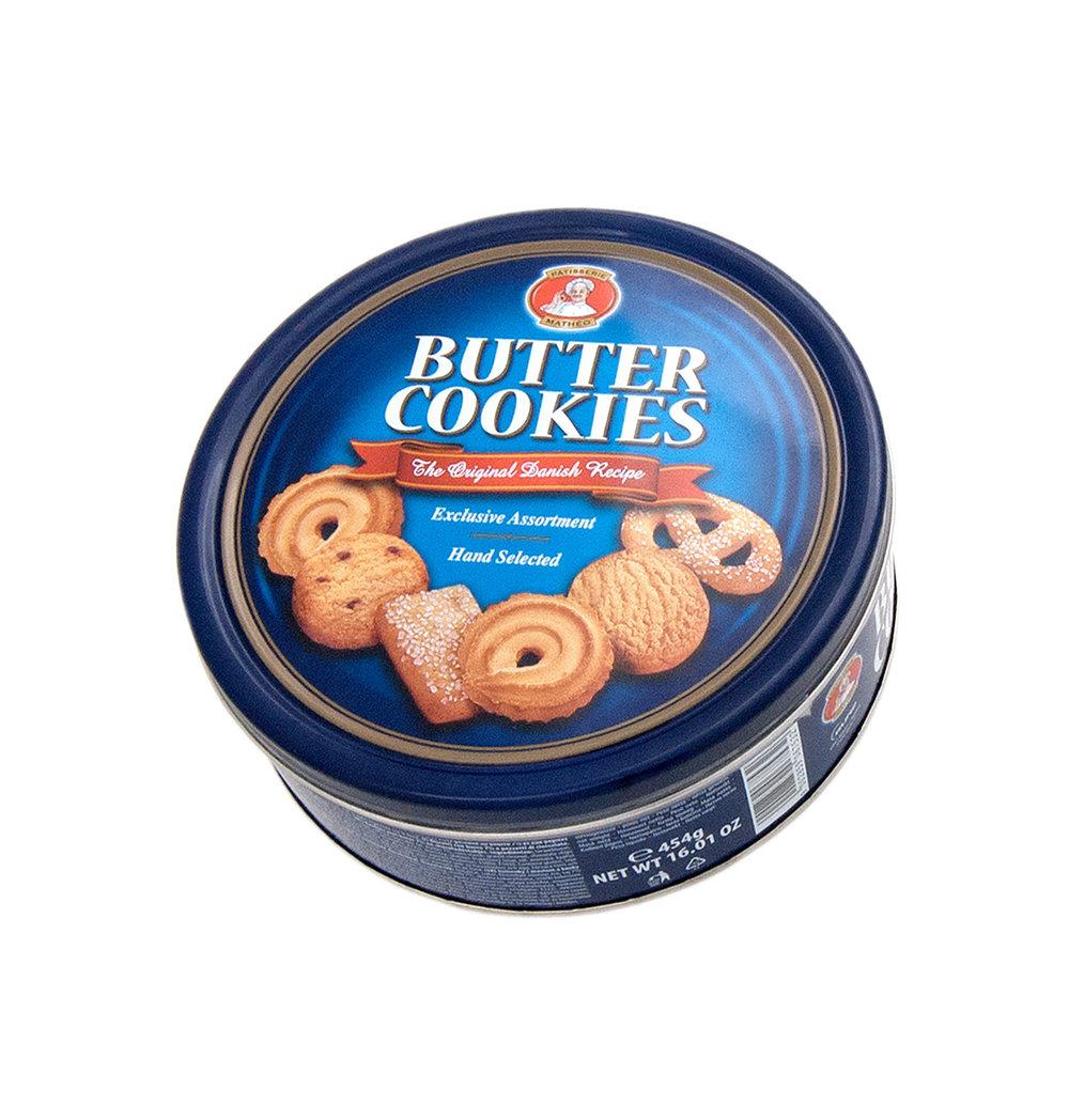 Pâtisserie Mathéo Butter Cookies