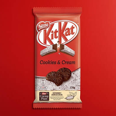 Nestlé Kit Kat Cookies & Cream