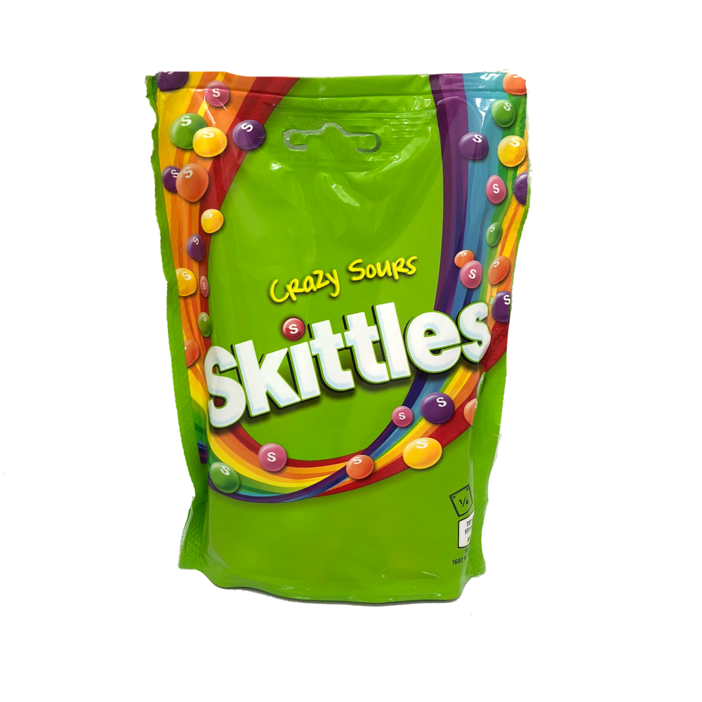 Skittle Crazy Sours Bag