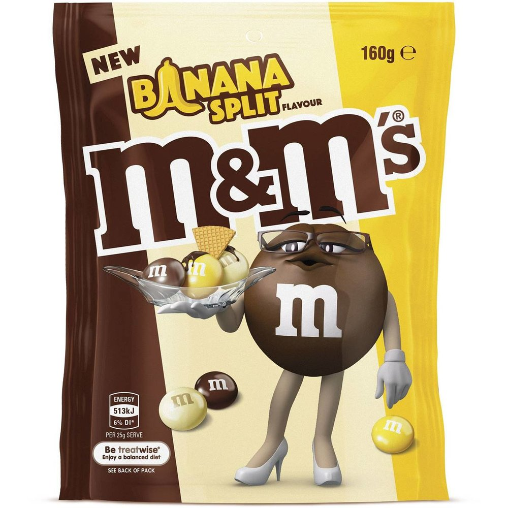 M&m's Banana Split