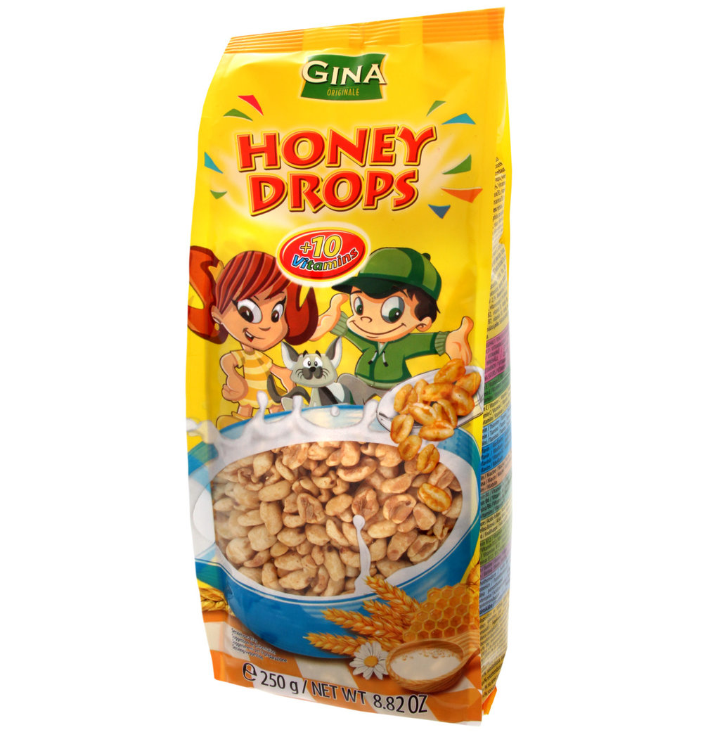 GINA Honey Drops Cereal