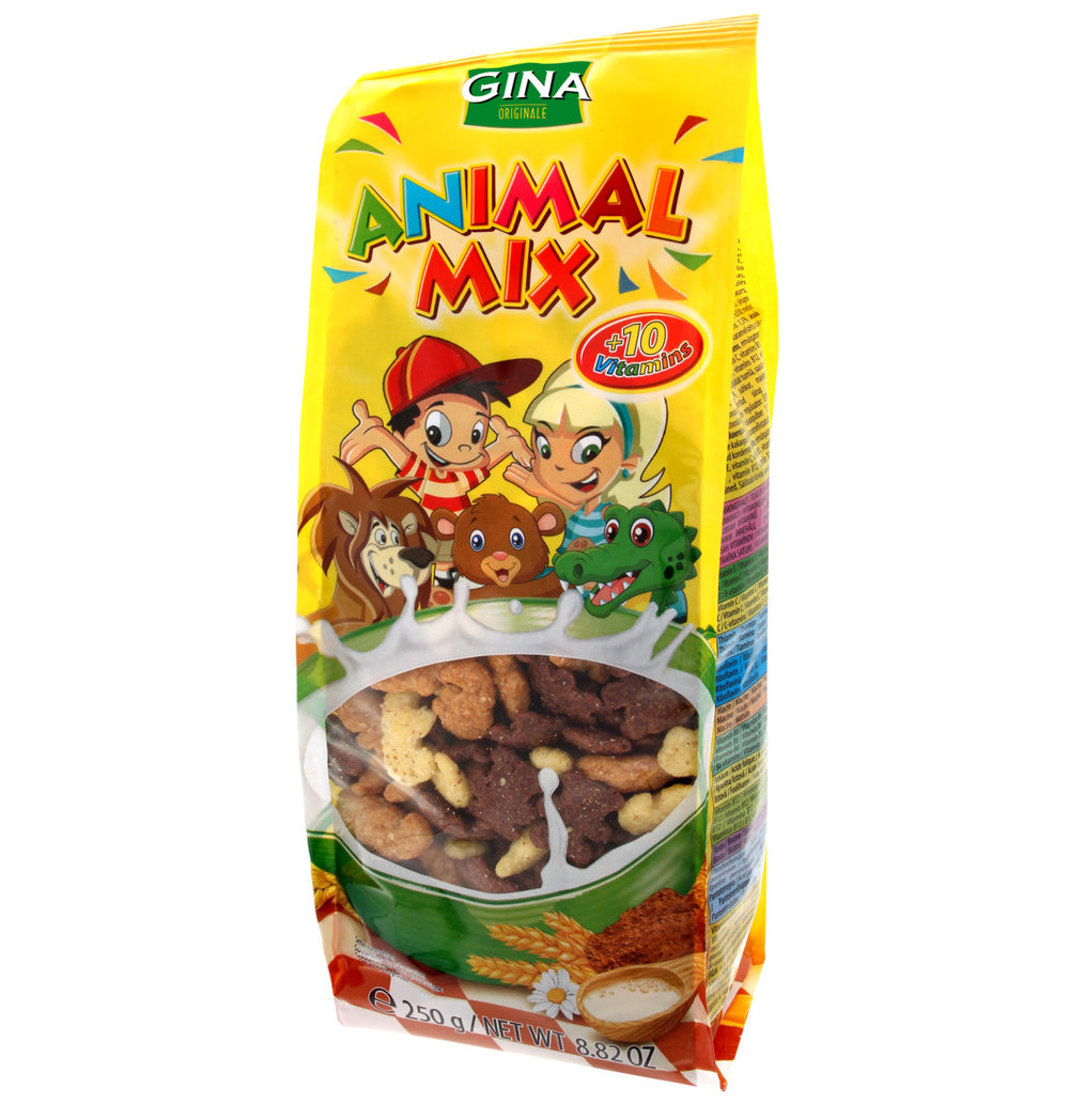 GINA Animal Mix Cereal