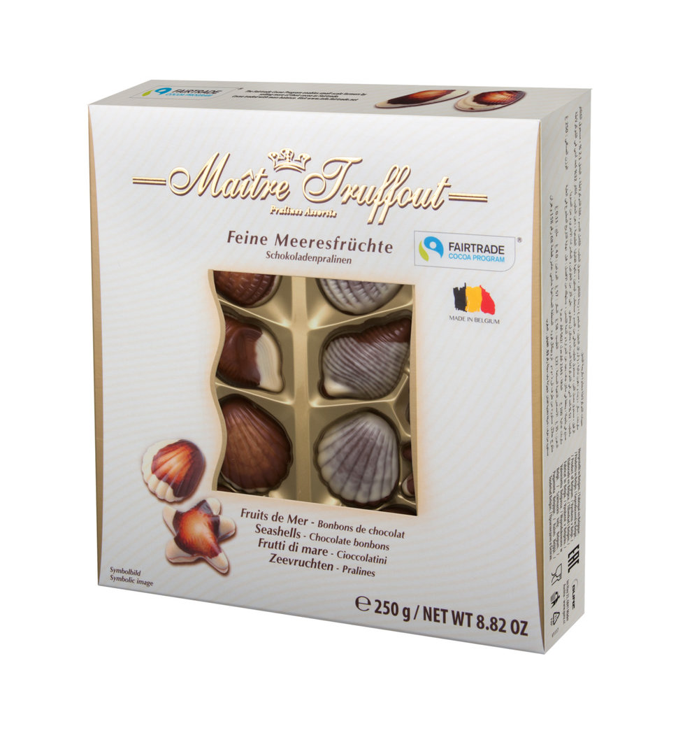 Maitre Truffout Sea Shell Pralines