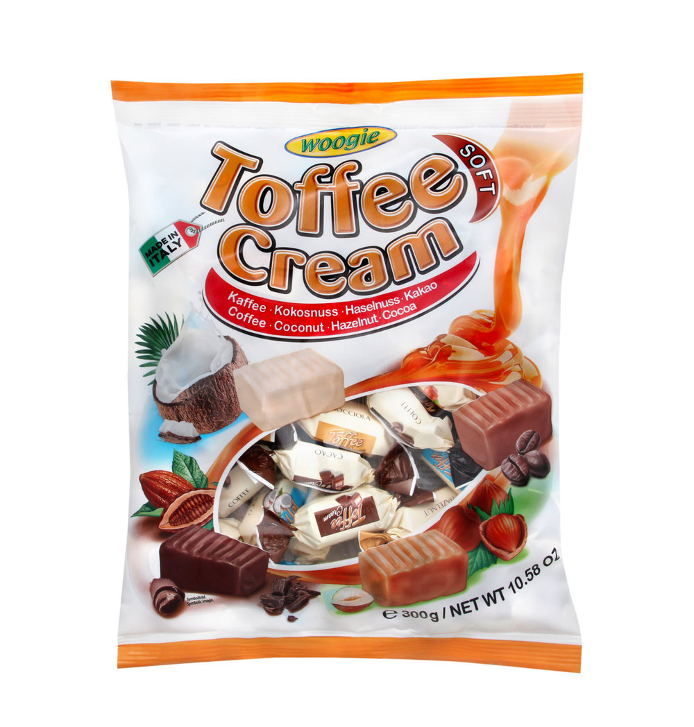 Woogie Soft Toffee Cream
