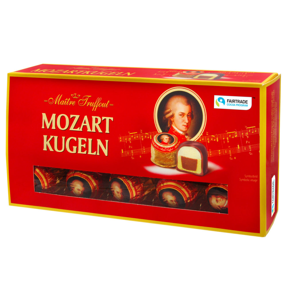 Maitre Truffout Mozart Balls