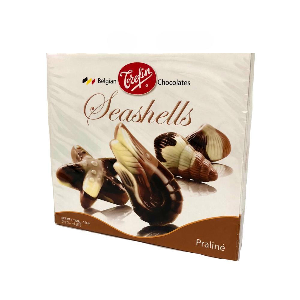 Trefin Belgian Seashells Praline