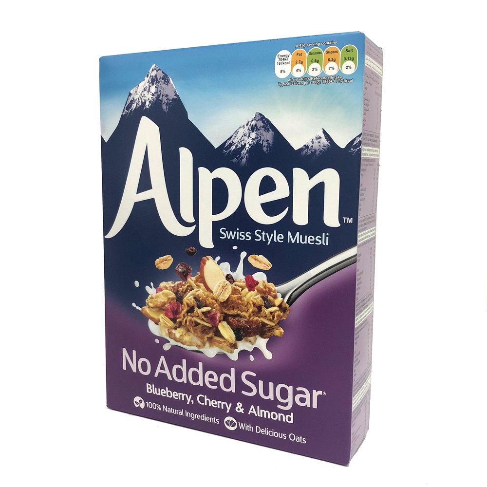 Alpen Muesli - Blueberry, Cherry & Almond
