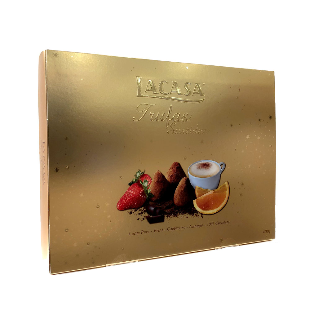 Lacasa Assorted Chocolate Truffles