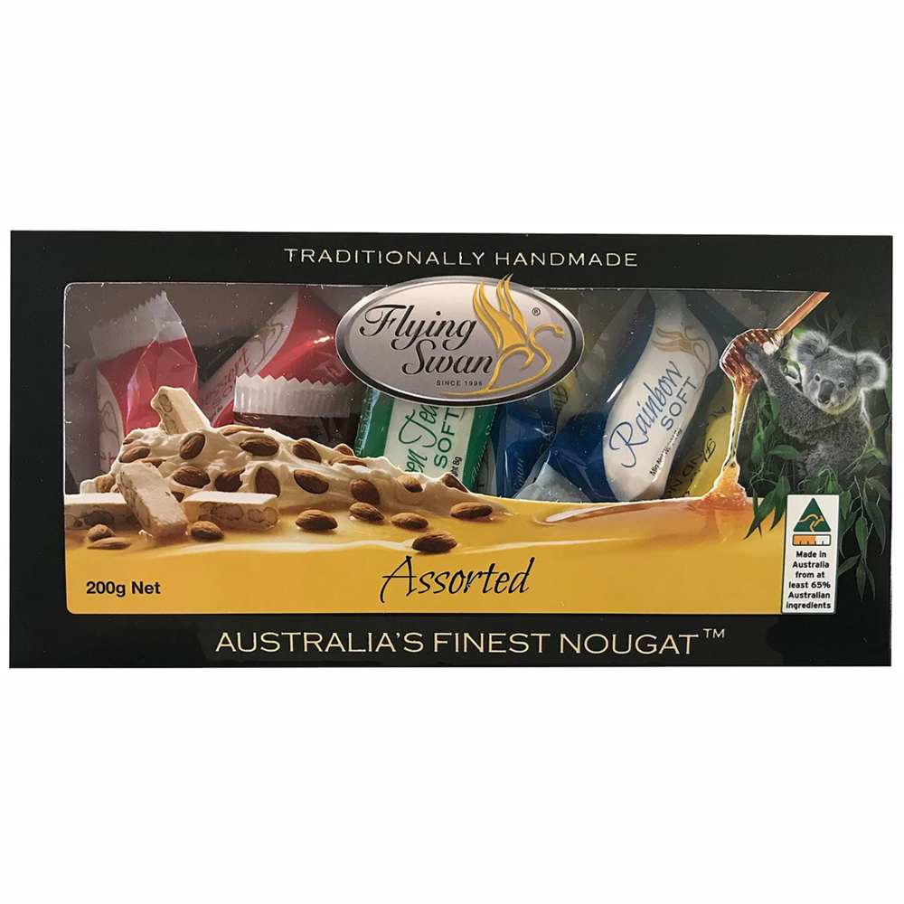 Flying Swan Assorted Nougat Gift Box
