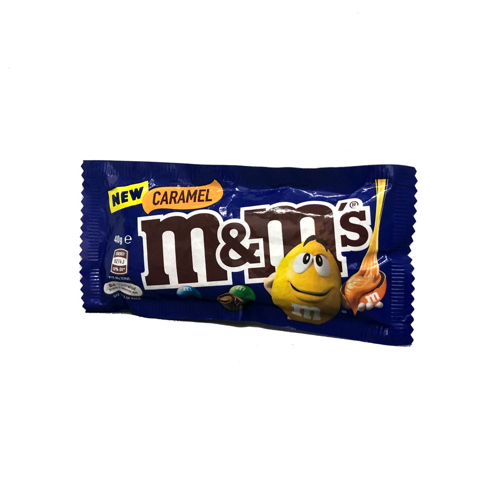Caramel m&m's