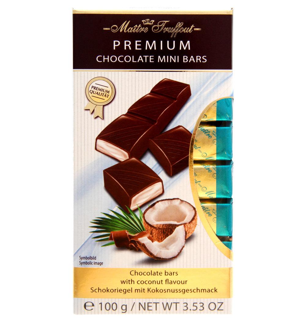 Maitre Truffout Premium Milk Chocolate Bar