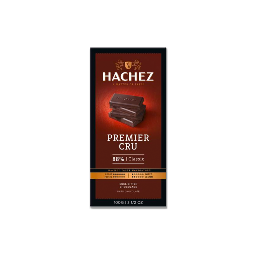 Hachez Premier Cru Chocolate Bar